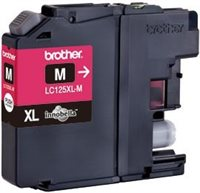 Brother Tintenpatrone XL magenta, LC125XLM