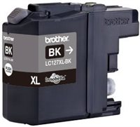 Brother Tintenpatrone XL schwarz, LC127XLBK