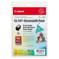 Canon Chromalife Pack C/M/Y + GP-501 (2972B008)