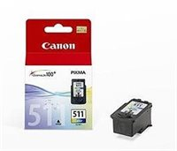 Canon Tintenpatrone color, CL-511 (2972B001)
