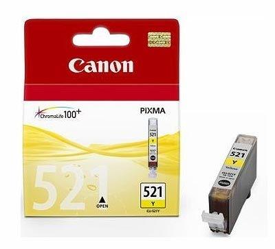 Canon Tintenpatrone gelb, CLI-521Y (2936B001)