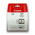 Canon Tintenpatrone schwarz + color   PG-545PACK