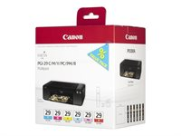 Canon Tintenset Multipack farbig PGI-29PACK2