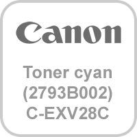 Canon Toner für IR C5045/C5051i cyan (2793B002)