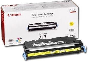 Canon Toner gelb, Cartridge Nr. 717 für MF8450