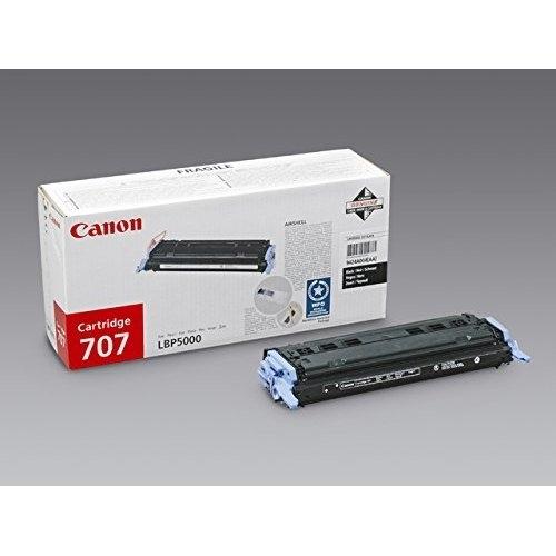 Canon Toner schwarz, Cartridge 707BK
