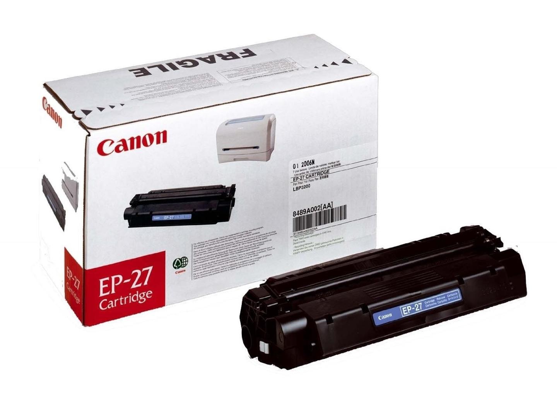Canon Toner schwarz, EP-27, 8489A002