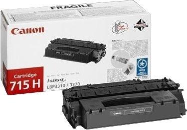 Canon Toner schwarz XL, Cartridge Nr. 715H