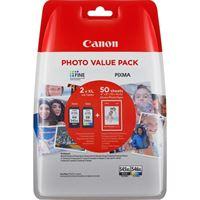 Canon XL Tinten schwarz + color PG-545XLPACK