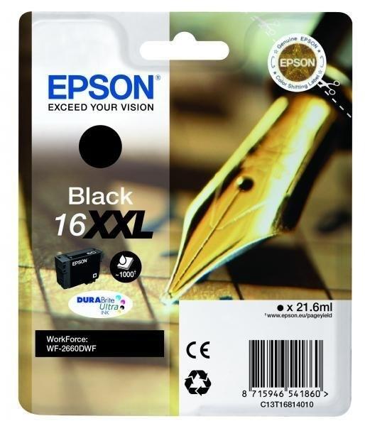 EPSON 16XXL Tinte schwarz Extra hohe Kapazität