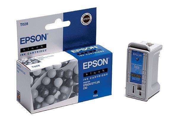 EPSON Farbtintenpatrone für Stylus C60, schwarz