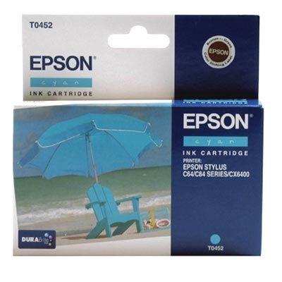 EPSON Farbtintenpatrone für Stylus C64/C84, cyan