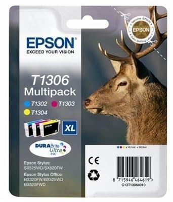 Epson Multipack 3farbig XL für SX525WD, T13064010