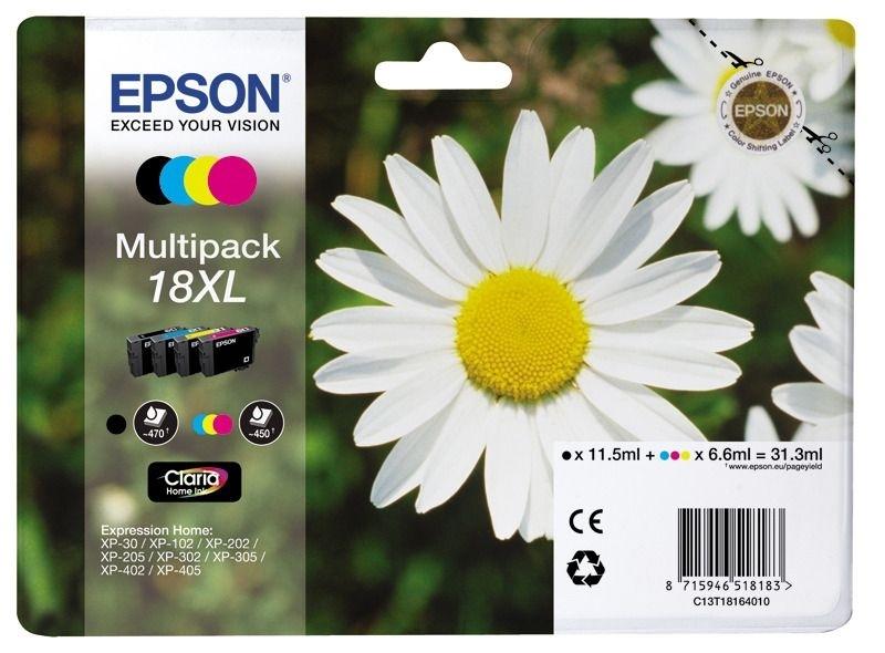 Epson Multipack 4 Farben 18XL Claria Home T1816