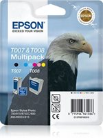 Epson Multipack T007 plus T008