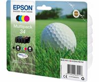 Epson Original - 4er-Pack Tinte 34 B/C/M/Y