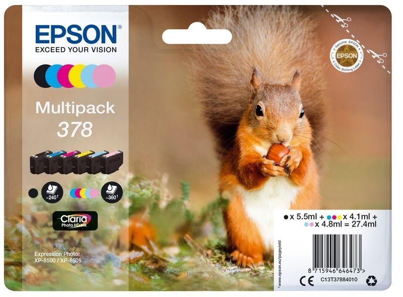 Epson Original - Tinte BCMY -  C13T37954010