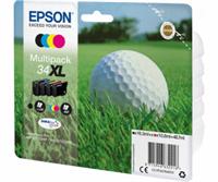Epson Original - 4er-Pack Tinte 34XL B/C/M/Y