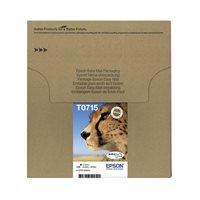 Epson Original Tinte Multipack bk/c/m/y Easy Mail Packaging T071