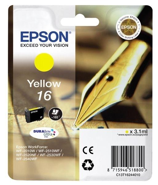 Epson Singlepack gelb 16 Ultra Ink T1624