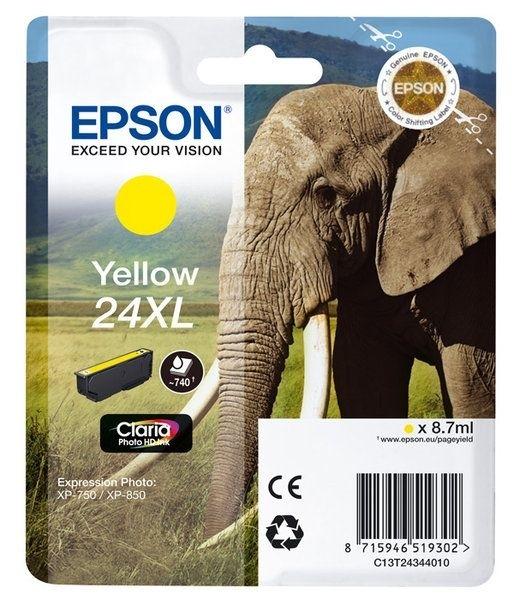 Epson Singlepack gelb 24XL Claria T2434