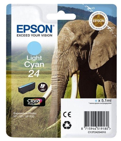 Epson Singlepack Light cyan 24 Claria T2425