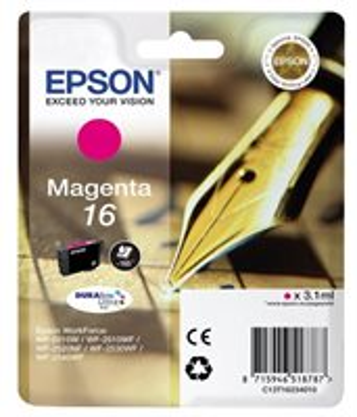 Epson Singlepack magenta 16 Ultra Ink T1623
