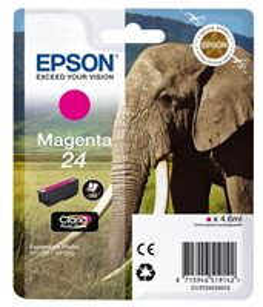 Epson Singlepack magenta 24 Claria T2423