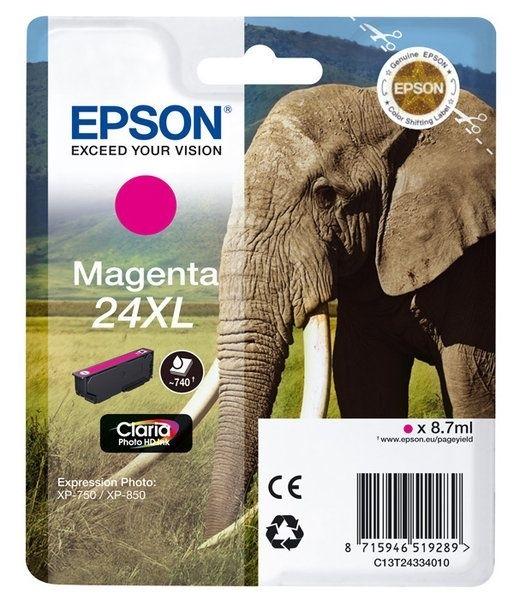 Epson Singlepack magenta 24XL Claria T2433