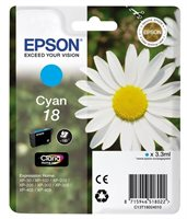 Epson Tinte cyan 18 Claria Home Ink T1802
