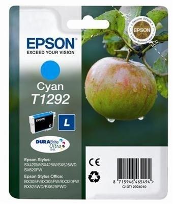 Epson Tinte cyan für SX525WD, T12924010