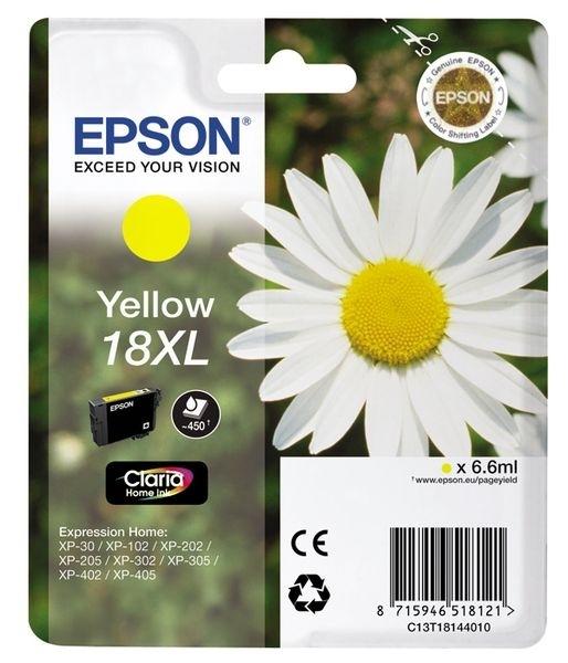 Epson Tinte gelb 18XL Claria Home Ink T1814