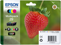 Epson Tinte Multipack 4-Farben 29 T2986