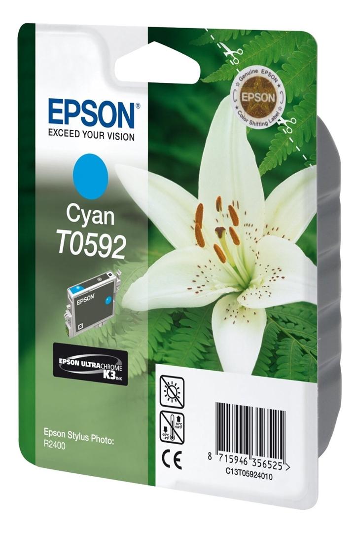 Epson Tintenpatrone cyan, T059240