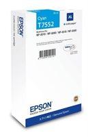 Epson Tintenpatrone cyan XL -  C13T755240