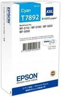 Epson Tintenpatrone cyan XXL -  C13T789240
