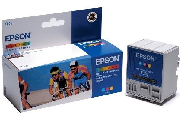 EPSON Tintenpatrone farbig - T005011
