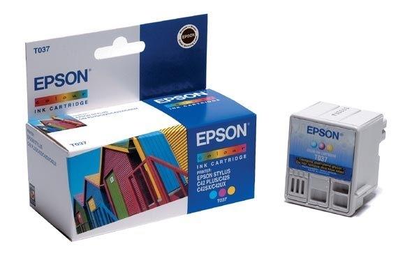 EPSON Tintenpatrone für Stylus C42UX, color