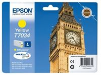 Epson ink cartridge yellow , T70344010