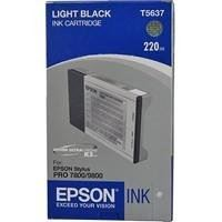 Epson Tintenpatrone light black, T563700, HC