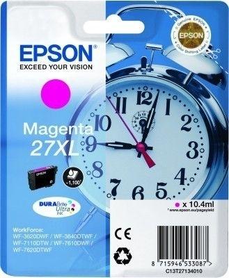 Epson Tintenpatrone magenta XL -  C13T27134010