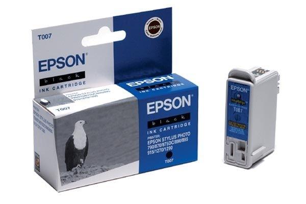 EPSON Tintenpatrone schwarz - T007401