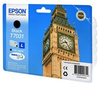 Epson ink cartridge black , T70314010