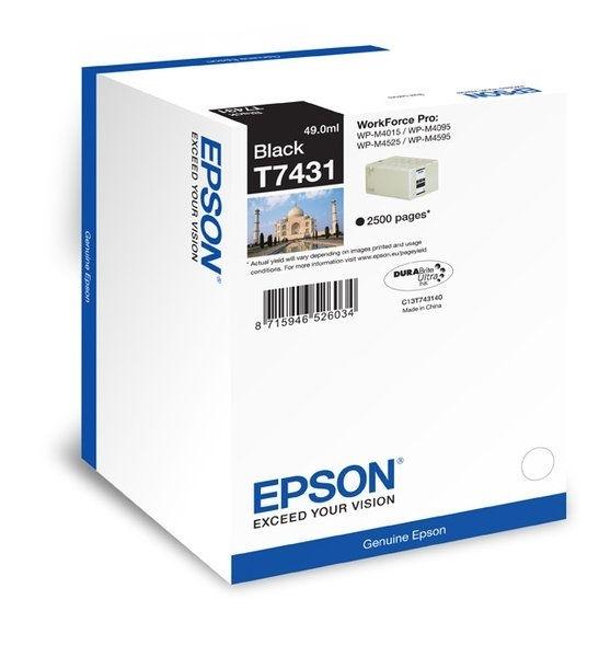 Epson Tintenpatrone schwarz 2.5K T7431