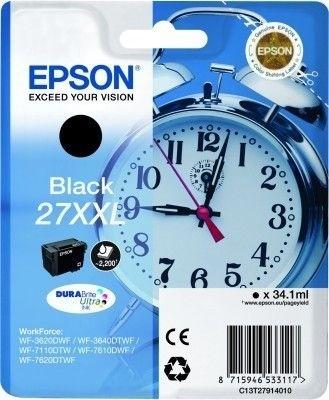 Epson Tintenpatrone schwarz XXL -  C13T27914010