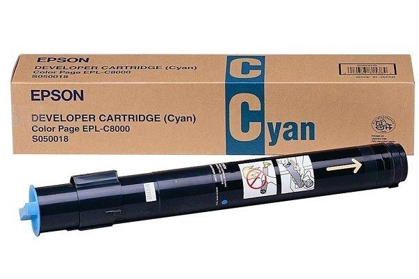 EPSON Toner cyan für EPSON EPL-C8000 -C13S050018-