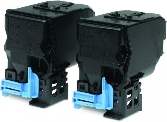 Epson Toner schwarz 2erPack für C3900, C13S050594
