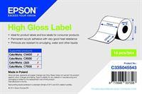 High Gloss Label - Die-cut Roll - C33S045543