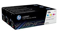 HP 128A original Tonerpaket cyan, magenta, gelb - CF371AM