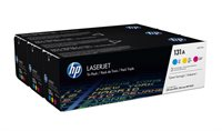 HP 131A original Tonerpaket cyan, magenta, gelb - U0SL1AM